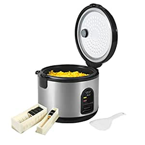 Swan SF20010CDWM Sushi Maker and Rice Cooker, 1.2 Litre, 500 Watt