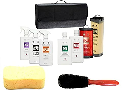 XtremeAuto® - Autoglym Complete Car Exterior Cleaning Kit + Carry Bag