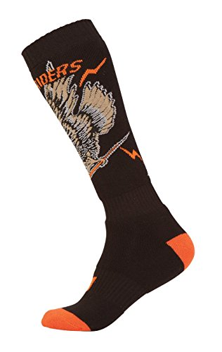 O\'Neal Unisex Socken Pro MX Eagle, Schwarz Orange, 0356U-118