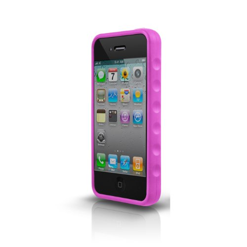 Marware SportGrip Silikonhülle für Apple iPhone 4 pink Marware Sport Grip Für Iphone