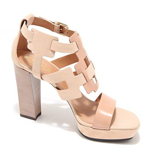3898L sandali donna TOD'S selleria scarpe shoes sandals women beige/cipria