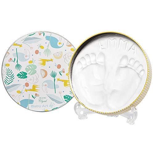 Baby Art - My Baby Gift Box, Geschenk-Set mit 1x Magic Box inkl. Gipsabdruck Set zum Selbermachen, sowie 3 kleinen Geschenkboxen, Limited Edition vom französischen Designerpaar Mr. & Mrs. Clynk