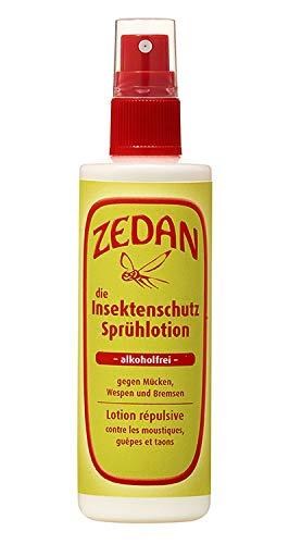Zedan - Insektenschutz Sprühlotion - Natürlicher Hautschutz gegen Mücken, Wespen , Bremsen und weitere , 1er Pack (1 x 100 ml)