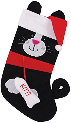 Spaß und festlicher Hund oder Katze Weihnachtsstrumpf - Hund oder Katze - Cat
