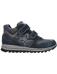 Primigi - 2390122 B Blu Scarpe Bambino Alte Sneakers Bimbo Tempo Libero 527e86bb546