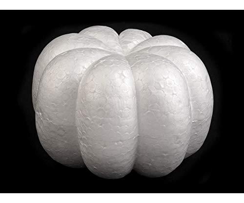 1stück Weiß Kürbis 8x12,5 Cm Polystyrol, Andere Motive, Styropor Rohlinge, Dekoration -