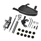 LEENY Multifunktions-Radfahren-Reparatursatz-Set für die Fahrrad-Reparatur-Werkzeugkoffer Pocket Tool, Praktischen universelles Fahrradwerkzeug zur Fahrradreparatur zu Hause und im Freien