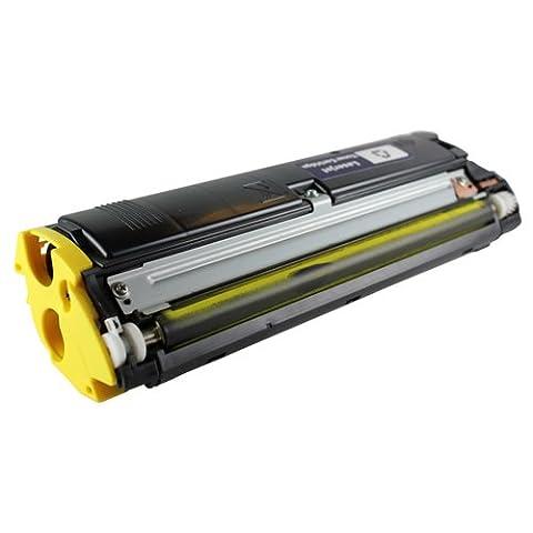 Qms Konica Minolta Magicolor laser toner printer cartridge 2300 2300W 2300DL 2300EN 2350 Yellow
