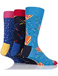 Happy Socks Stripe Gift Box, Calcetines para Mujer (Pack de 4)