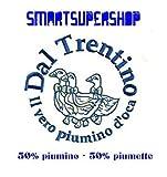 Offerta Imperdibile : Piumino Matrimoniale in piuma d' oca Trentino in OMAGGIO una simpatica maglietta del nostro STAFF Composizione : 50% Piumino - 50% Piuma d'oca - Piumini - Affarone - Qualità e convenienza in un unico prodotto !
