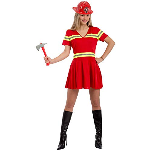 Costume pompiere donna T.U. (S-M)