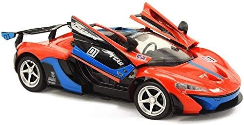MECFIGH 1/14 RC Racing Drift 2.4G ferngesteuertes Spielzeug Auto Offene Tür Spielzeug 8.2km / H Ferngesteuert Elektronik Rennen Modell Stunt Fahrzeug Geburtstag Spielzeug for Kinder Geschenk