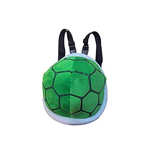 Plüsch Kostüm Kinder Schildkröte - Plüsch Schildkröte Schildkrötenpanzer Turtle Rucksack Bag Kinder Kostüm (Grün)