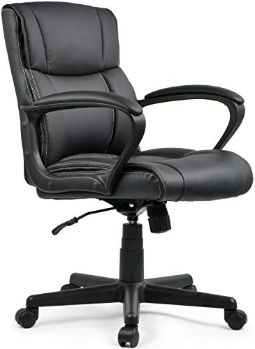 Umi Bürostuhl Chefsessel Drehstuhl Computerstuhl Gaming Stuhl PU Leder Schreibtischstuhl Gamer Stuhl