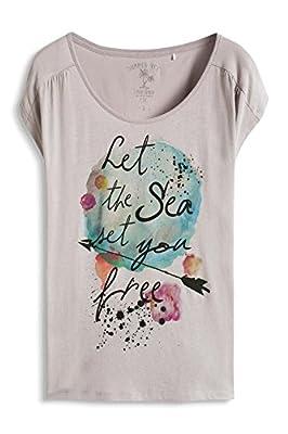 edc by Esprit Women's 066cc1k002 Short Sleeve T-Shirt