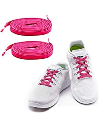 factory price efa43 41729 MAXXLACES Flache elastische Schnürsenkel mit einstellbarer Spannung in  verschiedenen Farben Schuhbänder ohne Binden komfortable Schuhbinden einfach