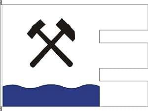 Flagge Fahne Hochformatflagge Messinghausen - 120 x 300cm