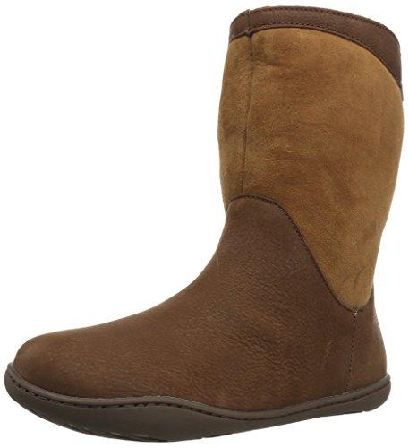 Camper Damen Peu Cami k400048Wadenhohe Stiefel, Braun,39 EU (Schuhe Camper Stiefel)