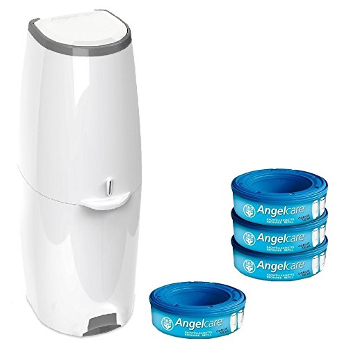 Angelcare Windeleimer Comfort 2785 + 4er Nachfüllpack