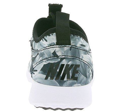 Nike Wmns Juvenate Flo Print, Chaussures de Sport Femme Noir / Noir-Blanc
