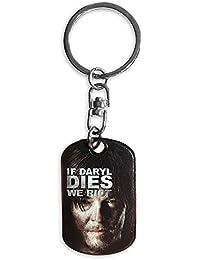 The Walking Dead Schlüsselanhänger Daryl Dixon, aus Metall silberfarben