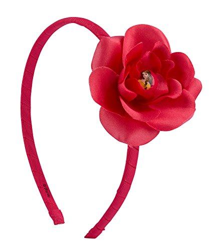 ssoires, Die Schöne und Das Biest Belle Haarreifen mit Blume (305-245) (Erwachsene Disney Belle Kostüme)