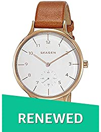 (Renewed) Skagen Anita Analog White Dial Womens Watch - SKW2405#CR