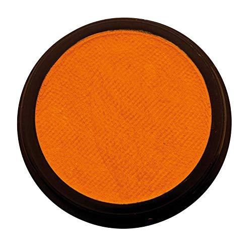 Eulenspiegel 180532 - Profi-Aqua Make-up Schminke - Perlglanz-Orange - 20 ml / 30g (Gesicht Bart Halloween Mit Make-up)