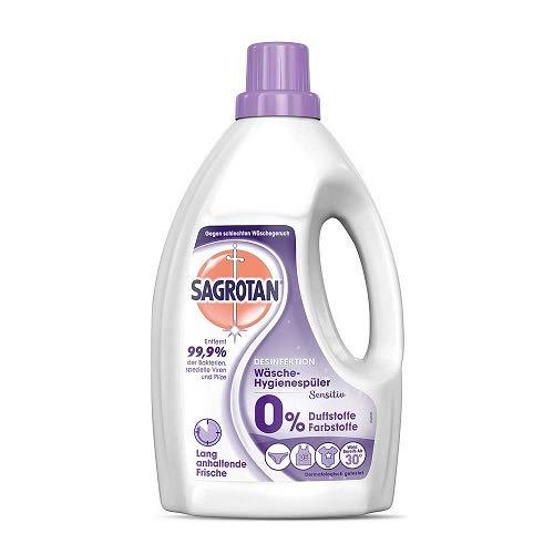 Sagrotan Wäsche-Hygienespüler Sensitiv, Waschmittel-Zusatz, 1er Pack (1 x 1,5 l)