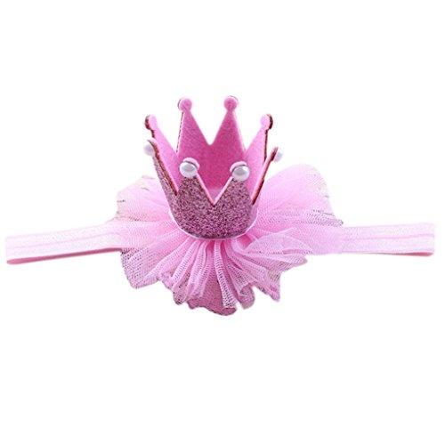 litter Prinzessin Stirnband-Baby-Fotografie-Geburtstags-Haar-Band-Verpackungs-Foto-Stütze Baby Kopfbedeckung ()