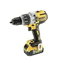 Dewalt DCD996P2-GB 18V Cordless XR 3 Speed Brushless Combi Drill in TStak, 18 V, Yellow/Black, One size