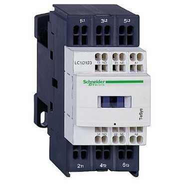 SCHNEIDER ELEC PIC - PC7 28 01 - CONTACTOR 32A 1NA/1NC 24V CC-AR ANTIPARASITO RESORTE