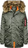 Alpha Industries N3B VF 59 W Jacke Vintage Green