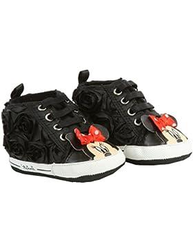 Disney Minnie Maus Baby Krabbelschuhe in schwarz Gr. 16/17, 18, 19/20