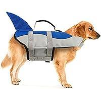 Xiaoyu Chaleco Salvavidas para Perros, Chaleco Salvavidas Ajustable para Mascotas, Salvavidas para Mascotas,