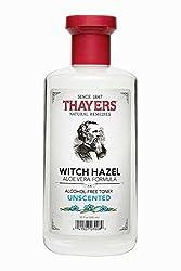 3 Pack - Thayers Alcohol-Free Witch Hazel with Organic Aloe Vera Formula Toner, Unscented 12 oz