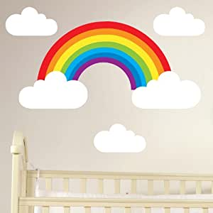 ... Over the Rainbow Giant Removable Wall Decals
