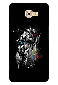 Samsung Galaxy C9 Pro Mobile Back Cover For Samsung Galaxy C9 Pro; It Is Matte glossy Thin Hard Cover Of Good Quality (3D Printed Designer Mobile Cover) By Clarks