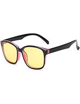 Huicai Gafas bloqueadoras de Blu-ray Gafas de computadora Protección UV Anti-fatiga Vintage Lentes de lentes transparentes