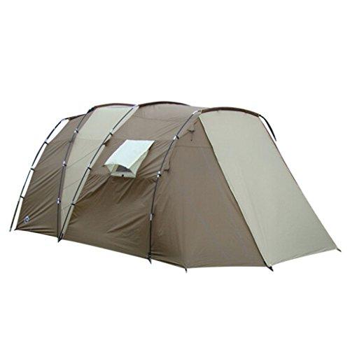He Ping Yuan Zelt 5-8 Personen 2 Schichten Anti Regensturm Camping Outdoor Familie Camping Zelt @@