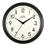 Acctim Amelia–Negro–Reloj de Pared