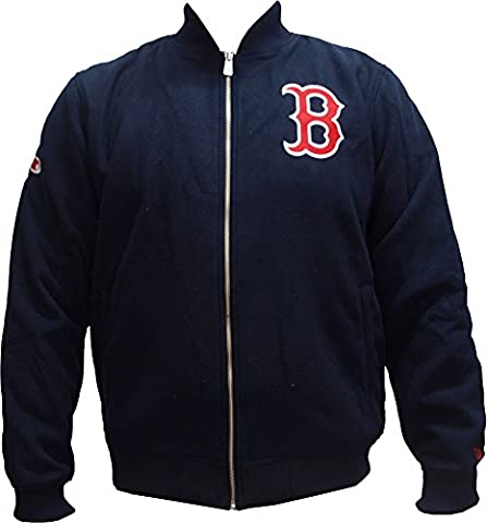 New Era Herren Jacken / Bomberjacke Team Melton Boston Red Sox blau L