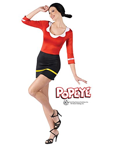 Sexy Olive Oyl Fancy dress costume X-Large (Olive Kostüm Popeye)