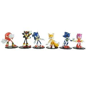 Sonic The Hedgehog 2-inch Mini Figure Box Set