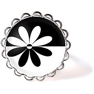 Ring mit Cabochon ° Blume °