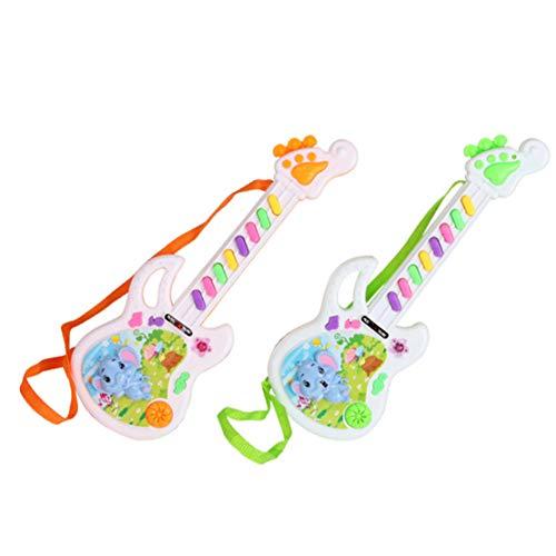 Happy Event E-Gitarre Spielzeug Musikalisches Spiel Für Kinder Junge Mädchen Kleinkind Lernen Elektron Spielzeug