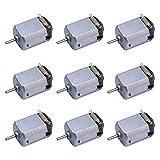 DIVISTAR Mini-Elektromotor 1,5-6 V, 15000-16500 U/min, 9 Stück