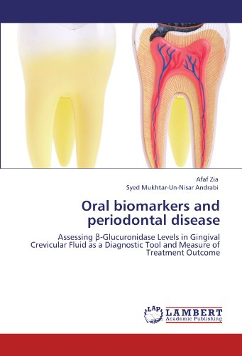 Oral biomarkers and periodontal disease: Assessing β-Glucuronidase Levels in Gingival Crevicular Fluid as a Diagnostic Tool and Measure of Treatment Outcome (Dental Tools Buch)