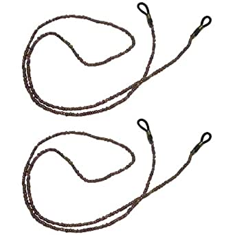2x Pearl Colour Beads Lanyard Neck Cord Spectacle Glasses Strap Holder 405ssperl