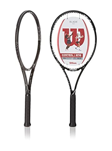 Wilson Tennisschläger Blade 104 BLX 18/19, schwarz/silber, L3, WRT71641U